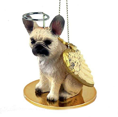 Eyedeal Figurines FRENCH BULLDOG FAWN Angel Dog Christmas Ornament Resin MINIATURE FIGURINE New DTA73B
