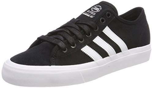ADIDAS ORIGINALS Herren Matchcourt RX Sneakers, Schwarz (Cblack/ftwwht/cblack), 40 2/3 EU