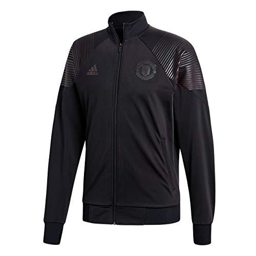 adidas Herren Licensed Icons Manchester United Trainingsjacke, Black, S