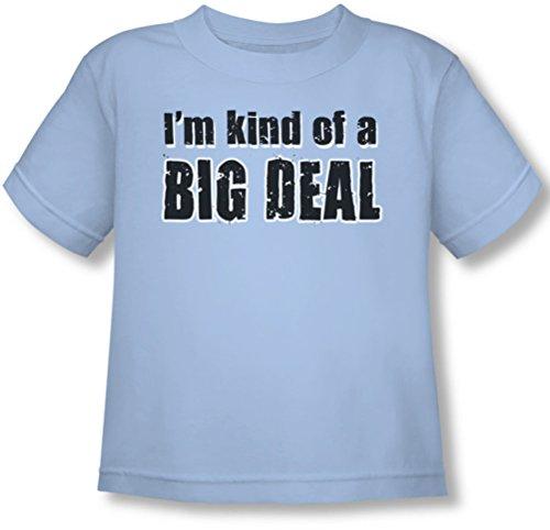 Big Deal - T-Shirt bleu clair, 2T, Light Blue