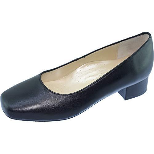 Zapatos Anchos Azafatas Bora-Bora - Negro - 40