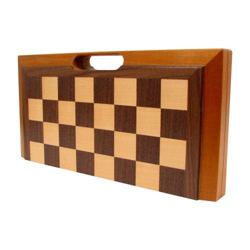 Deluxe en Bois d'échecs, Checker...
