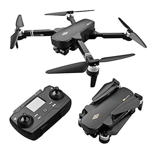Dron con cámara 6K EIS Dron con cámara UHD para adultos, cuadricóptero GPS fácil para principiantes con 28 minutos de tiempo de vuelo, motor sin escobillas, transmisión FPV de 5 Ghz, retorno automáti