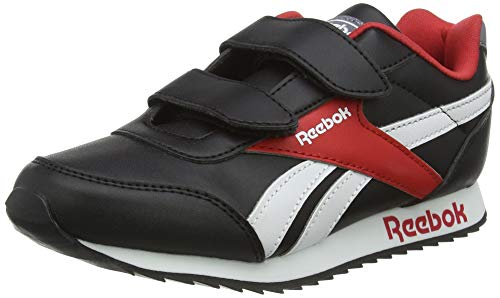 Reebok Royal Cljog 2 2V, Zapatillas De Running, Negro/Vecred/Blanco, 29 Eu