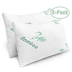 SHREDDED MEMORY FOAM PILLOWS: Plixio has designed the best pillows for sleeping. Our bamboo memory foam pillows use a cooling shredded foam technology to keep you cool all night. The breathable cover keeps your pillow dry and provides maximum comfort...