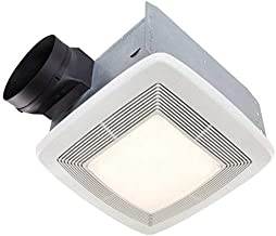 Broan Very Quiet Ventilation Fan and Light Combo for Bathroom and Home, ENERGY STAR Certified, 36-Watt Fluorescent Light, 4-Watt Nightlight, 110 CFM