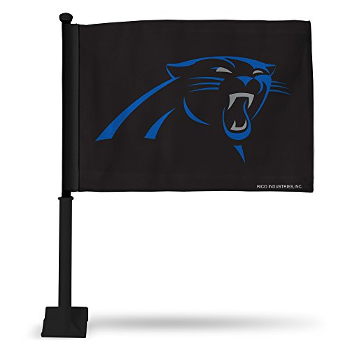 Rico Industries NFL Autoflagge inkl. Stange Carolina Panthers
