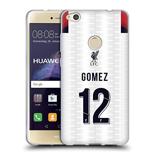 Head Case Designs Oficial Liverpool Football Club Joe Gómez 2019/20 Jugadores Visitante Grupo 2 Carcasa de Gel de Silicona Compatible con Huawei P8 Lite (2017)