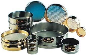 """Newark Wire 0306058 MG Stainless Steel Soldered Sieve Const, 270 Mesh, 53 um, 6"""""""
