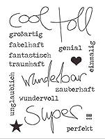 DIYスクラップブッキングフォトアルバム用ドイツ透明クリアシリコンスタンプシール装飾クリアスタンプA126