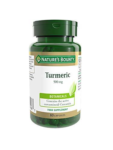 Nature's Bounty Turmeric 500 mg Capsules - Pack of 60