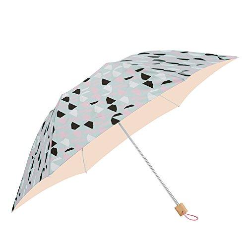 小川(Ogawa)クイックオープン折りたたみ晴雨兼用日傘手開き50cmkorkoコルコリフレクションUV加工遮熱遮光加工はっ水バック型袋付81184