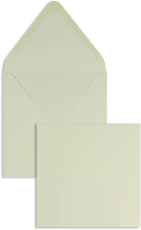 Farbige Briefhüllen     Premium   160 x 160 mm Creme (100 Stück) Nassklebung   Briefhüllen, KuGrüns, CouGrüns, Umschläge mit 2 Jahren Zufriedenheitsgarantie B00FPNX68K | Verrückte Preis  393b2f