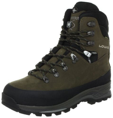 Lowa Men's Tibet GTX WXL-Wide Trekking Boot,Sepia/Black,11.5 W US