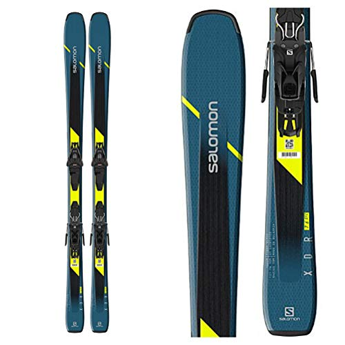 SALOMON E XDR 76 ST mit L10 GW L80 Bindung Allmountain Ski Carving Ski Collection 2020 (150)