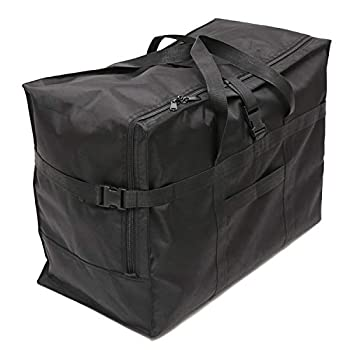 Extra Large Travel Duffel Bag Oversized Carry On Checked Luggage Bag Anti Theft Travel Tote 28  ,120L  black