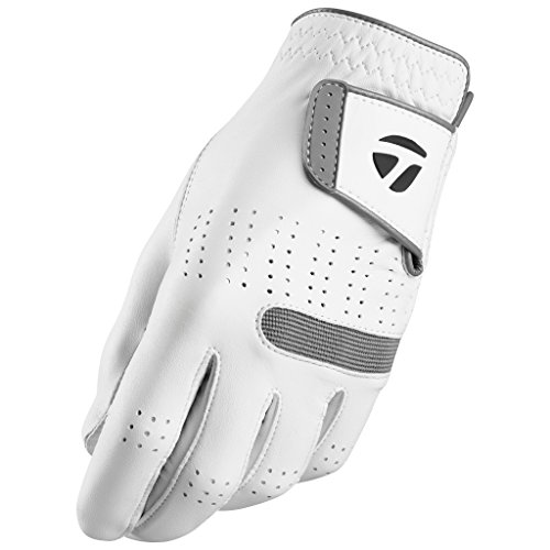 TaylorMade Tour Preferred Flex Glove (White, Right Hand, Small), White(Small, Worn on Right Hand)