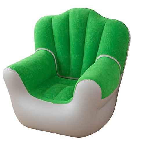 Sedia gonfiabile per il tempo libero, per interni ed esterni, sedia da gioco per soggiorno, camera da letto, portatile, sedia pigra