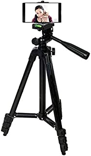 Vomoco AB3120F 3120 Mobile and Camera Tripod - Universal Portable & Foldable Professional SLR DSLR Camera Stand for Photography and Videography Tripod (Multicolor)