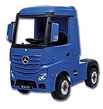 CAMIÓN Infantil Mercedes Azul DE BATERÍA 24V
