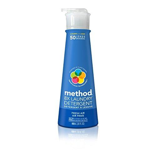 method(メソッド) ランドリーリキッドフレッシュエアー 600ml (洗たく用液体洗剤)