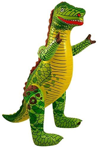 Aufblasbarer Dinosaurier 90 cm Wasser Deko Party