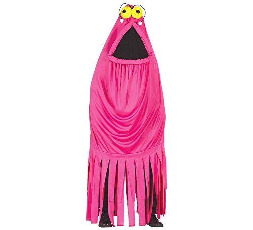 Disfraz de monstruo fucsia adulta