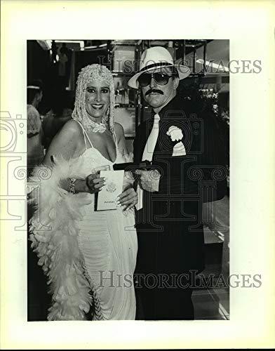 Immagini storiche 1987 Stampa Foto Keystone Kaper per Fibrosi cistica Beneficio partecipanti