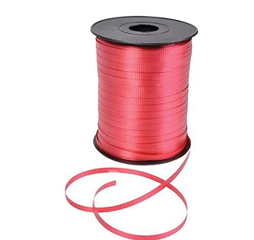 GiftExpress 500 Yards Red Curling Ribbon/Balloon Ribbon/Balloon Strings/Gift Wrapping Ribbons Supplies
