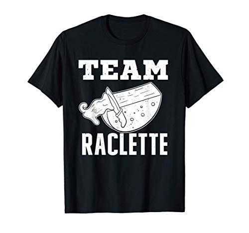 Team Raclette Raclett Käsefondue Käsefans Schweiz T-Shirt