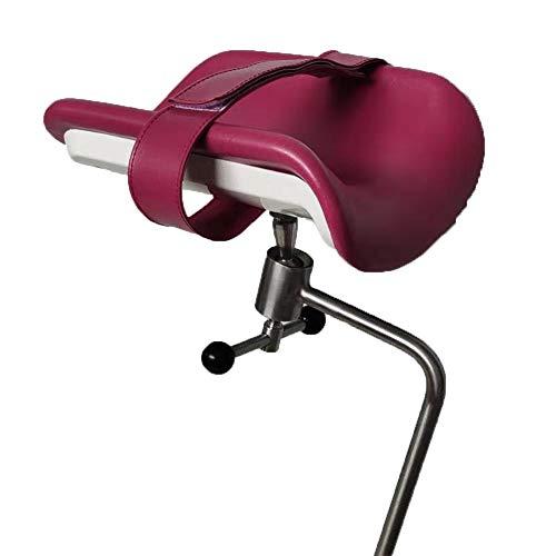 XJZHANG Tragbare Beinstütze, OP-Tischständer 304 Edelstahlstange Ist Für Amputationshalterung, Mobile Fußpflege Beinauflage