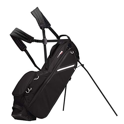 TaylorMade Flextech Lite Custom, Borsa con Supporto, per Golf Uomo, Nero, Taglia Unica