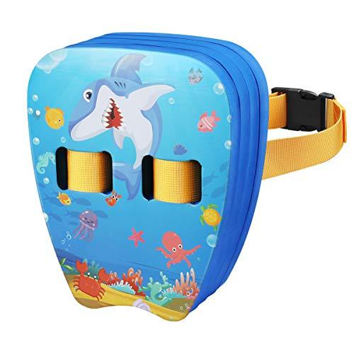 CLISPEED Back Float Swim Trainer Belt for Kids Beginners Swimming Training
