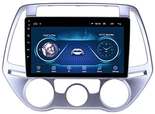 Navegación GPS Doble DIN Coche Estéreo 9 Pulgadas Pantalla táctil Android 10 Coche Radio para Hyundai Llamadas sin Manos Soporte Bluetooth Dab/Mirror Enlace/Volante