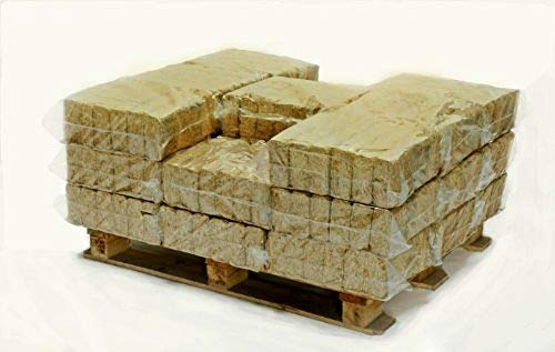 Hotblocks British Made, Eco WOOD BURNER/MULTI-STOVE FUEL.Half Pallet of 576 Briquettes (480kg) for use in woodburners, multi stoves, wood ovens, log boilers, chimeneas & firepits, campfires