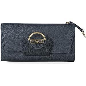 Baggit Women's Synthetic Wallet (Black) (Barbara Y G X)