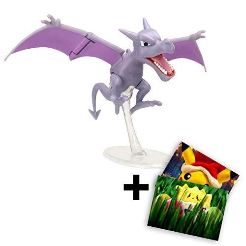 Lively Moments Pokemon Battle Pack Actionfigur & Funktion Spielfigur / Sammelfigur Alola Erweiterung Aerodactyl + GRATIS Grußkarte