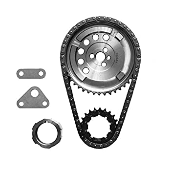 SA Gear 78536T-9 Billet Timing Chain Set Chevy LS3 .250 Double Roller 3 Bolt