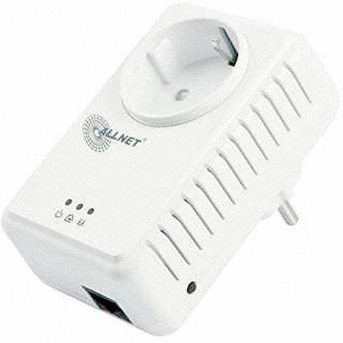 Allnet ALL168255SINGLE HomePlug AV Powerline Adapter (500Mbps, 1-er Pack)