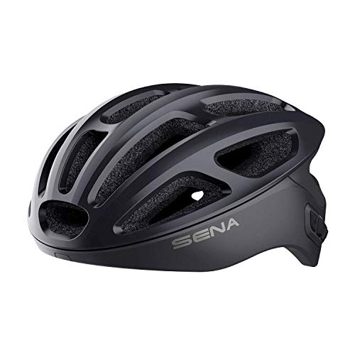 Sena Unisex-Adult Smart Cycling Helmet (Matte Black, Large)