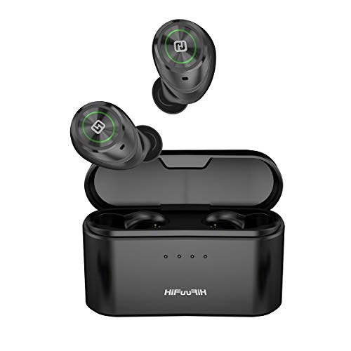 HiFuture TidyBuds Pro - TWS Earbuds with Wireless Charging Case (3000 mAh), Battery Powerhouse with 100H of Combined Playback, Powerbank...