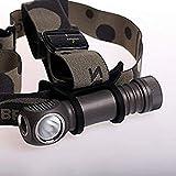 Zebralight H600Fc Mk IV 18650 XHP50.2 Floody 4000K High CRI Headlamp