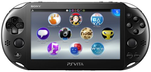 PS Vita Slim - Black - Wi-fi (PCH-2000 ZA11)