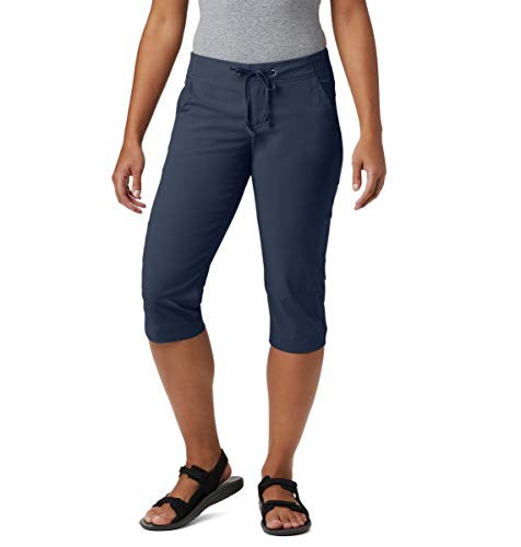 Columbia Women's Anytime Outdoor Capri, Nocturnal, 14W x 18L