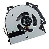 CPU Cooling Fan Compatible for Envy 15-AR TPN-W119 W120 M6-AQ M6-AR M6-AR004DX M6-AQ003dx M6-AQ005dx m6-w011dx M6-AQ004DX M6-AQ103DX M6-AQ105DX Series Laptop DFS200405BD0T 856277-001