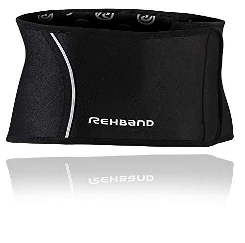 Rehband QD Back Support Rückenbandage, Schwarz, M