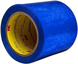 3M 7000049596 polyester afdektape voor poedercoating, 8901, 0,06 mm, blauw, 19,1mm x 66m, blauw, 48