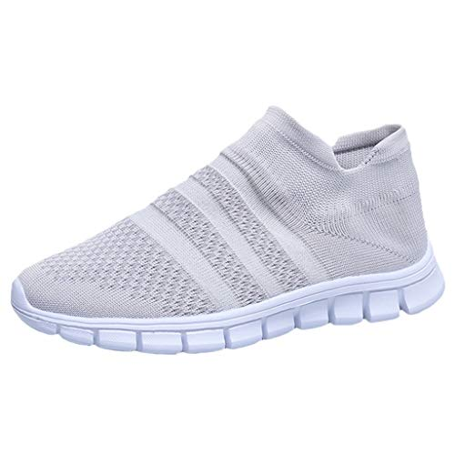 Sale!! Comfort Sneakers,Women's Flying Weaving Socks Shoes Sneakers Casual Shoes Student Running Sho...