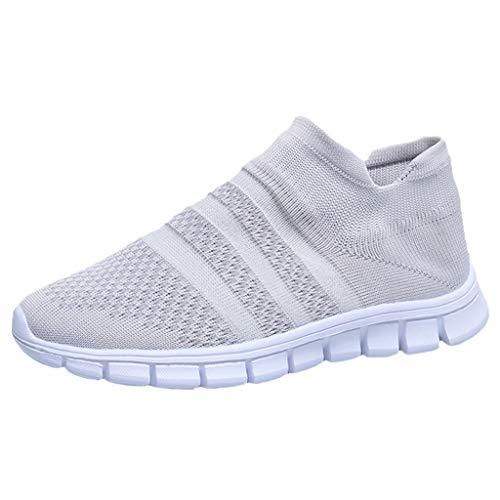 Sale!! Comfort Sneakers,Women's Flying Weaving Socks Shoes Sneakers Casual Shoes Student Running Shoes ℘Shusuen℘