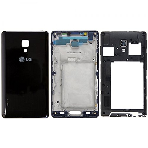 LG L7-2 ii P710 Komplett Gehäuse Set schwarz